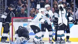 Les Sharks éliminent les Kings et avancent au deuxième tour!